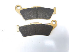 PERFORMANCE SINTERED GOLD FRONT BRAKE DISC PADS FOR YAMAHA YZF-R125 2008 - 2014