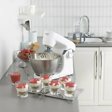 Kenwood MultiOne Electric Stand Mixer White Food Processor Juicer Baking Kitchen
