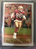 1999 Topps Chrome Football Card #50 Jerry Rice Near Mint