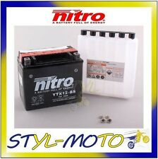 YTX12-BS BATTERIA BATTERY NITRO AGM KYMCO 300I XCITING 2008