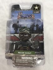 Lil Troops U.S. Army Figure Recon Scout Ages 4+ New