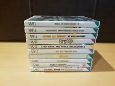 Nintendo Wii Games Bundle x10 Tested Complete with Manuals