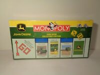MONOPOLY JOHN DEERE COLLECTOR'S EDITION New Board Game