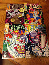 Silver Surfer #50, #56, #57, #59 - All Thanos Cover's