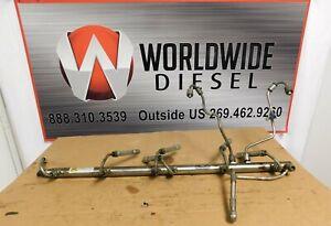 """2012 Detroit DD15 """"903"""" Fuel Rail , Part # A47200780245. Good Used Part"""