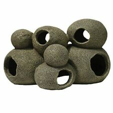 Cave Rock Hide Pebble grand tunnel Aquarium Ornement Fish Tank Décoration Nouveau