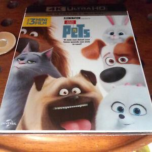 Pets Vita da Animali  4K Blu ray  .... Nuovo