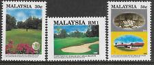 MALAYSIA 1993 ROYAL SELANGOR GOLF CLUB CENTENARY 3v MNH