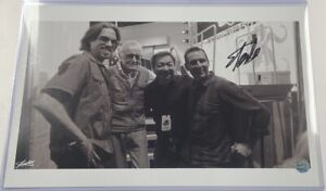 Stan Lee Signed Autograph Jim Lee Todd McFarlane Silvestri 11x17 Photo Print