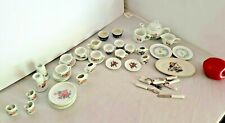 Mixed Lot Children Tea Set China for Dolls Multiple Sets Pieces Some Flatware