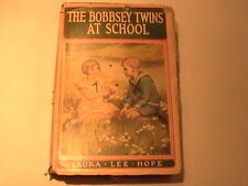 "VINTAGE CHILDREN'S HARDCOVER BOOK ""THE BOBBSEY TWINS AT SCHOOL 1913"