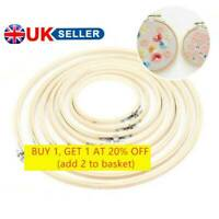 8-30cm Wooden Embroidery and Cross Stitch Hoop Ring in 10 Sizes 3 to 12 inch *