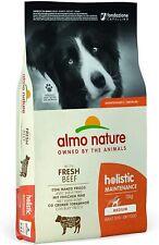 More details for almo nature -holistic adult dog food medium breed 12kg ( best before jan-21 )
