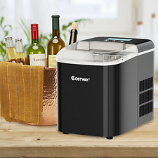Electric Cube Ice Maker Countertop 26Lbs/24H Lcd Display W/ Ice Scoop Portable
