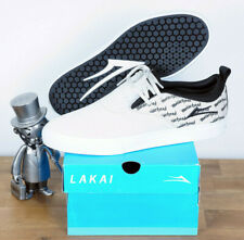 Lakai Footwear Skate Schuhe Shoes Riley Hawk 2 Motorhead White Black Suede 11/45