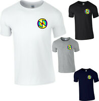 Captain Scarlet Logo T-Shirt,Spectrum Mysterons Puppet Thunderbirds Gift Tee Top