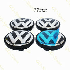 4Pcs 77MM CENTER WHEEL HUB CAPS Fit for 2004-10 VOLKSWAGEN VW TOUAREG 7L6601149