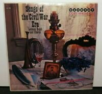 LEHMAN ENGEL SONGS OF THE CIVIL WAR ERA (VG+) HL-7198 LP VINYL RECORD