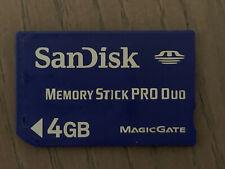 SanDisk 4GB Memory Stick PRO Duo MagicGate