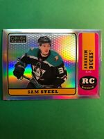 2018-19 OPC Platinum Retro Rainbow Rookie #R-86 Sam Steel Anaheim Ducks RC