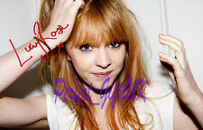 LUCY ROSE SIGNED AUTOGRAPHED 10X8 INCH REPRO PHOTO PRINT