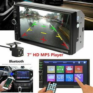 7inch HD Touch Screen Bluetooth 2Din Car Dash Stereo Radio MP5 Player FM/USB/AUX