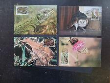 Jersey 1989 WWF Rare Fauna Maximum Cards