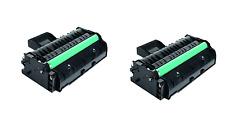 2 TONER NEGRO , compatible con Ricoh Aficio SP300 Serie