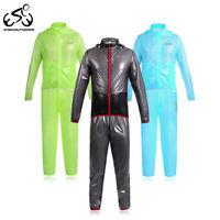 ciclismo Maglie pantaloni uomo impermeabile cappotto antivento Cycling Rain Sets