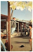 Quick Justice West of thje Pecos Six Flags Over Texas Postcard