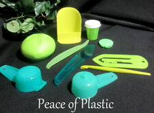 Tupperware New Lot Set Of 10 Pieces Consultant  Green  Gadgets