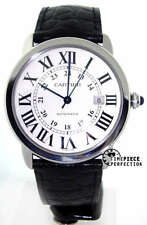 Cartier Ronde Solo Mens XL Stainless w6701010 Watch