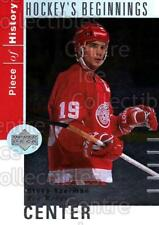 2002-03 UD Piece of History Hockey Beginnings #3 Steve Yzerman
