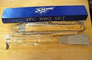 Camden River Sharks Baseball - 3 Piece BBQ Set - SGA - NEW - RARE