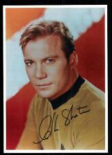 William Shatner Autogrammkarte bekannt aus Raumschiff Enterprise