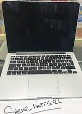 "APPLE MACBOOK PRO 13.3"" LAPTOP A1502  RETINA i5 2.7 GHz 256GB  8GB  EARLY 2015"