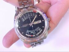 Vtg Orient Day/Date/Calendar Automatic 27 Jewel BIG Face 42x45mm Case. BUY NOW!!