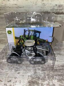 1/64th Scale John Deere 9620RX 2018 Farm Show 100 Years Silver Edition Ertl