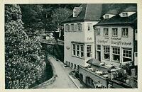 Ansichtskarte Heidelberg Hotel-Restaurant Burgfreiheit EIngang Schloß (Nr.847)
