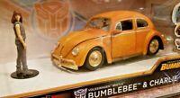 Jada Toys VW Beetle 1:24 Bumblebee & Charlie Diecast Transformers HW Rides 30114