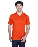 Team 365 Mens Big Tall Orange Short Sleeve Performance Polo Shirt Size 3XL TT20