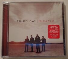 2012 NEW SEALED CD: THIRD DAY - MIRACLE Christian Rock Band 11th Album
