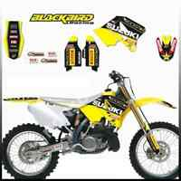 Kit Grafiche Rockstar BLACKBIRD Graphic kits for Suzuki RM125/250 01>17