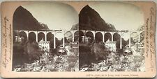 Pont du Loup Cannes France Photo Stereo Vintage Citrate