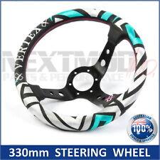 330mm Steering Wheel Labyrinth, 6 hole Hub. Vertex Nardi Momo Greddy NRG Sparco