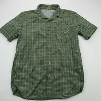 Helly Hansen Men's Shirt Adult Checks Shirt Color Green Camping Outdoor Medium