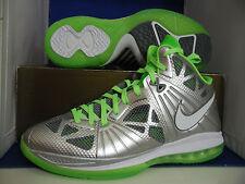 Nike Lebron 8 P.S. Dunkman Metallic Silver Electric Green SZ 8.5 ( 441946-002 )