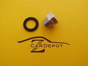 Datsun 1970-83 240Z 260Z 280Z L24 L26 L28 Engine Oil Pan Drain Plug NEW 199
