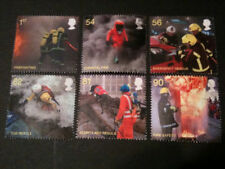 QE2 2009 FU SG 2958/63 FIRE AND RESCUE  STAMPS SET