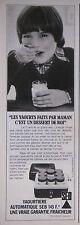 PUBLICITÉ DE PRESSE 1979 YAOURTIÈRE AUTOMATIQUE SEB - ADVERTISING